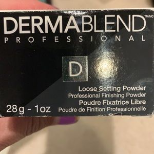 Dermablend FULL SIZE NEW loose setting powder